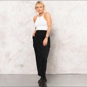 Vintage 90's Maxi Utility Skirt